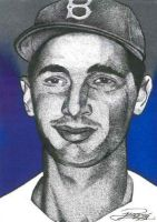 Sandy Koufax by JRosales1
