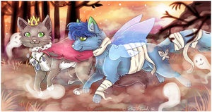 Halloween Ghosts - Commission by Fayven
