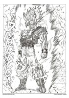 SSJ 2 Goku the begining 3 by bloodsplach