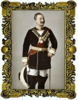 Wilhelm II in the uniform of the Order of St John by KraljAleksandar