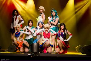 Sailor Senshis by NikitaCosplay