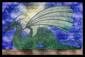 Saphira by hell0z0mbie