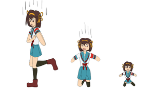 Playing with Haruhi 2 by Xysash