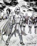 The Foot Clan with Leader by JR-Julia