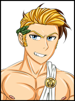 Greek God Hunk - Human Apollo by Megasonic20