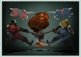 Pyros At Play by protowilson
