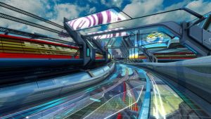 Wipeout HD 076 Fury by CGIII