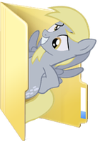 Custom Derpy folder icon by Blues27Xx