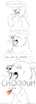 Bloody nose bear by CunningFox