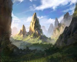 Rugged Country - Lord of the Rings TCG by jcbarquet