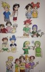 Childhood Friends by Marle1010