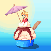Summer pixel contest entry by ametotaiyou