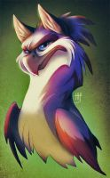 Griffin headshot by VixieArts
