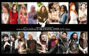GOT New cast cosplay 2012 by Elisa-Erian