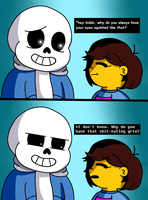 Don't Ask Frisk About Her Eyes by Magainita