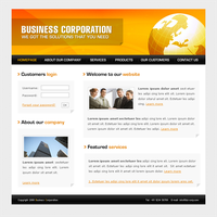 Corporate Template for 4T by apokalypseAT