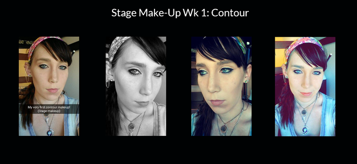 Stage Make-Up Wk 1 by Lady-Ceridwen