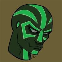 Runed Alien -Green by MMO-Rehab