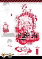 cybercafe tshirt design 02 by stitchDESIGN