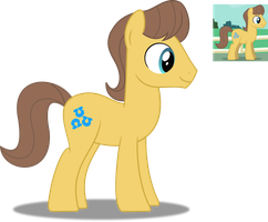 Vector lesson : Brownpony by SetoNLR