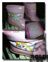 Eternal Sailor Moon Rain Boots by Magical-Mama