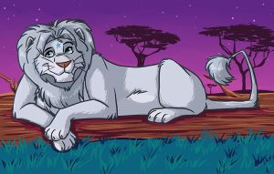 Lion by Greykitty