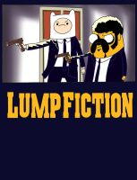 Lump Fiction Finn and Jake by roperseid