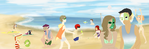 IC: Compagnia Beach Bonanza by Hannahbananaqt