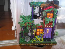Faery house 3 by Hecatae