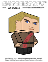 Cubeecraft - Joffrey Baratheon by CyberDrone