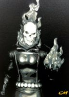 Ghost Rider by Stencils-by-Chase