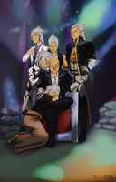 Xehanorts Six Faces by Torheit-die-Katze