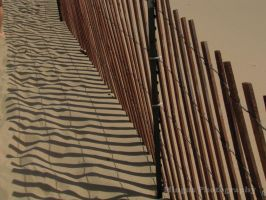 Beach Fence by justarus