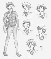 Thomas Character Study by blindbandit5