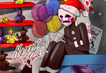 Freddy Fazbear's Pizza during Xmas... by luiginafan