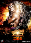 WWE Wrestlemania 13 Poster / HBK vs Bret Hart by workoutf