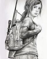 Ellie The Last of Us by Pencilsketches