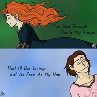 As Free As My Hair by LookingForLoo