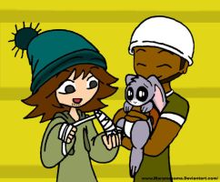 TDI Helping the Bunny by Maramasama