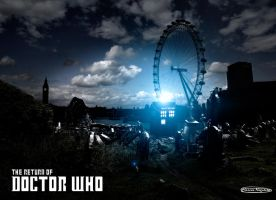 The Return of Doctor Who by marcosnogueiracb