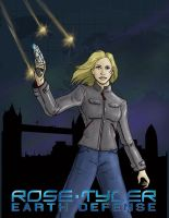 Rose Tyler: Earth Defense by JonWes
