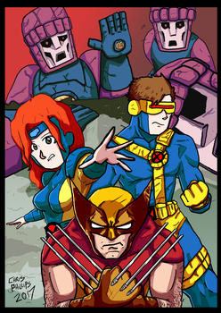 Xmen by Demonology7789