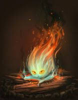 Calcifer by Draakh