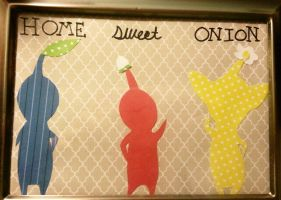 Pikmin Home Sweet Onion Silhouettes by TwinkleMuffin