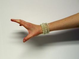 Hand with Pearls Stock15 by D-is-for-Duck