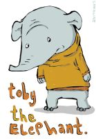 toby the elephant by morespeshalkid