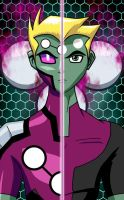 LOSH:  New Face of Brainiac 5 by mystryl-shada
