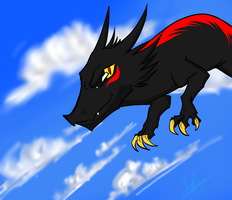 In the sky :AT: by Kinexuru
