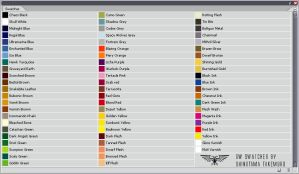 Games Workshop Colour Swatches by ShinotamaTakemuro