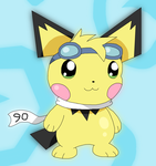 Pichu90 by Cansin13Art